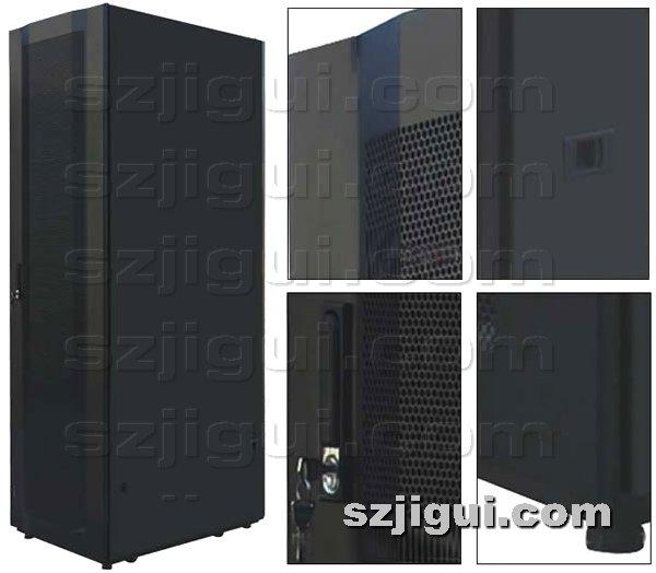 机柜网提供生产网孔九折型材机柜厂家
