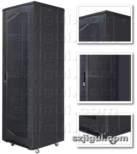 机柜网提供生产圆弧网络服务器机柜厂家