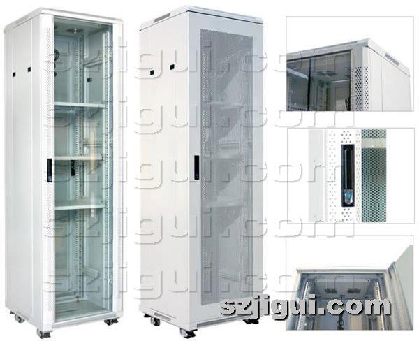 机柜网提供生产透气孔门条机柜厂家